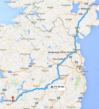 Belfast to Limerick